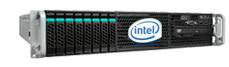 Hospedagem em servidores Intel